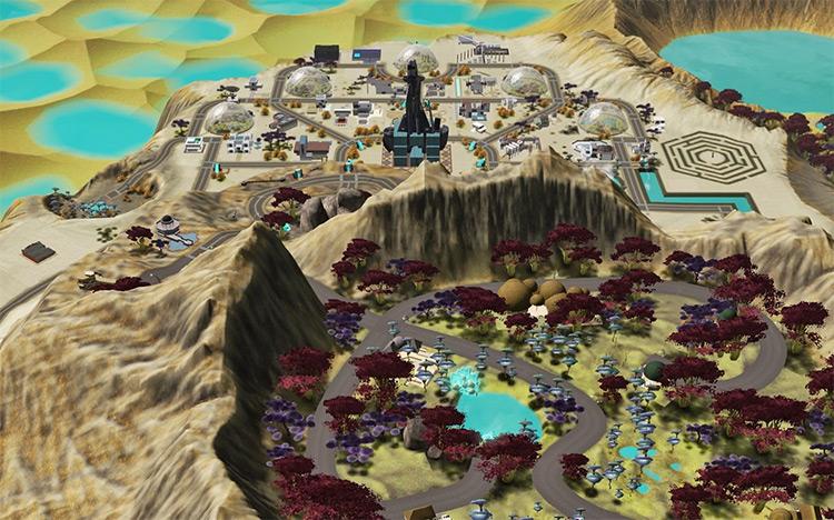 Lunar Lakes in Sims 3