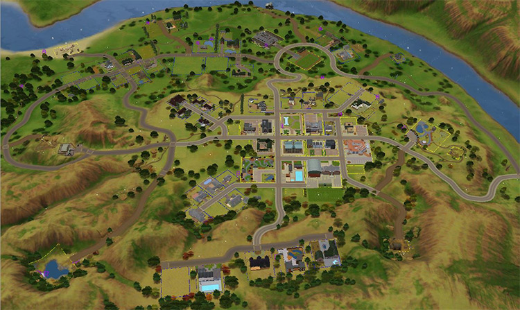 Appaloosa Plains in Sims 3