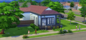 Sims 4 Willow Creek demo house