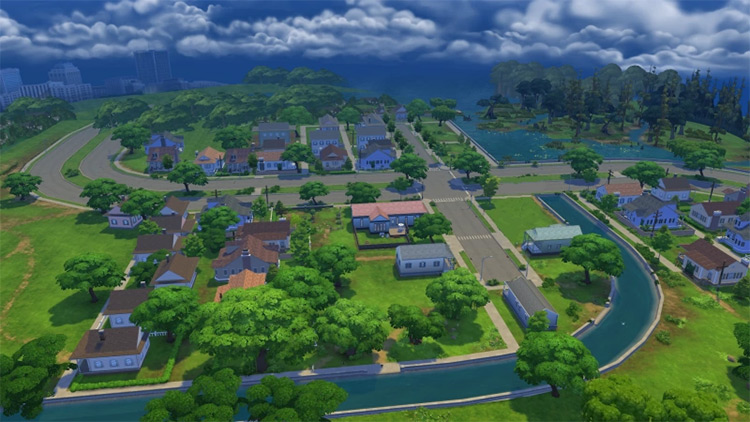 Willow Creek Sims 4