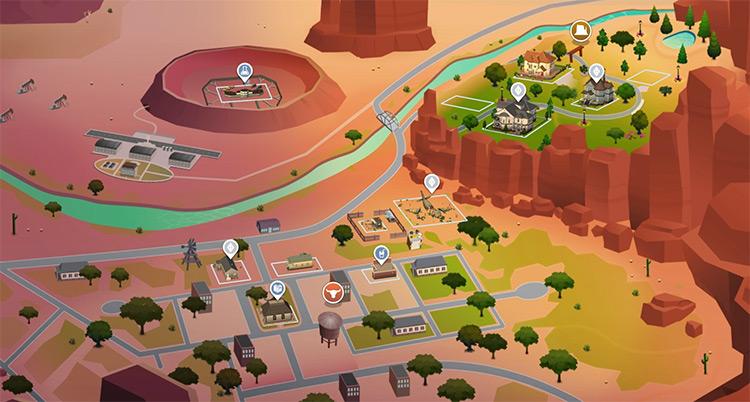 StrangerVille in Sims 4