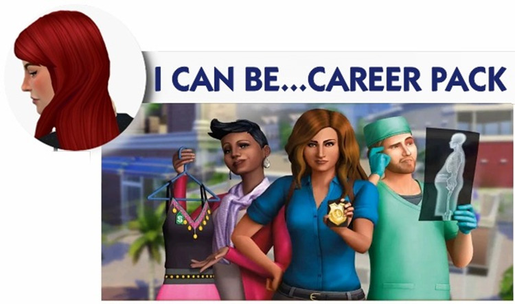 Midnitetech's Career Mods Sims 3