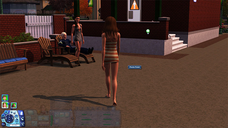 Third Person Mod in Sims 3