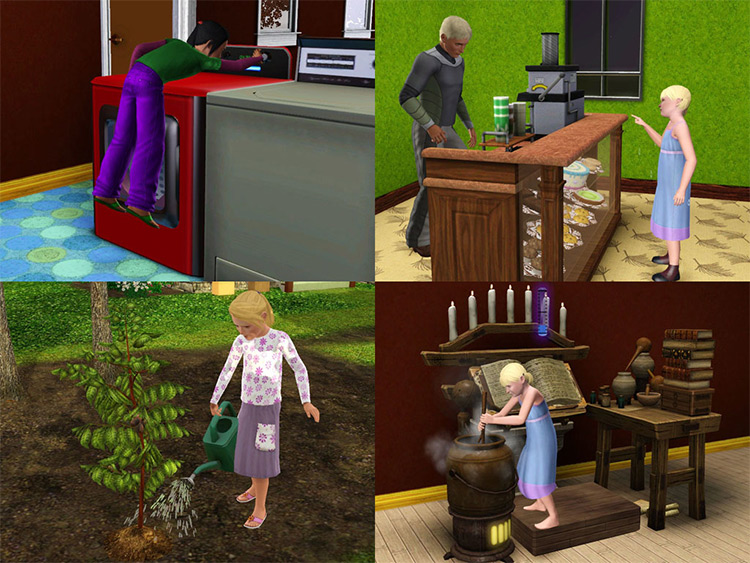 NoStretch Children Can Series Sims 3