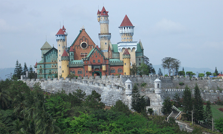 Philippines castle photo