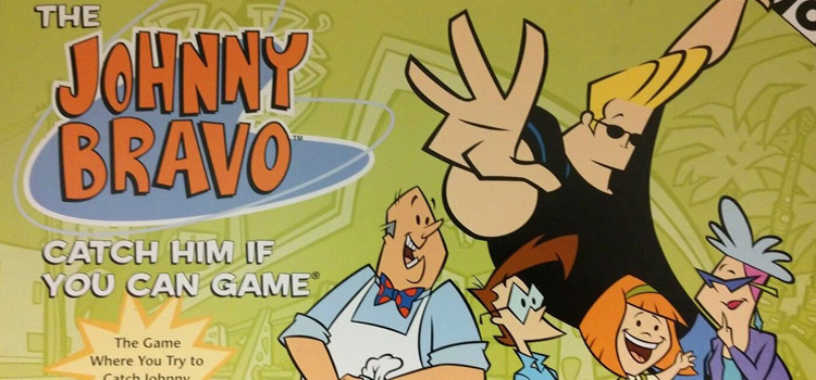Johnny bravo board game cover