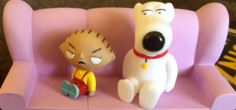 Stewie Brian TV Talkers toy