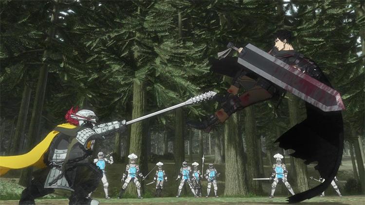 Kenpuu Denki Berserk (Berserk) anime