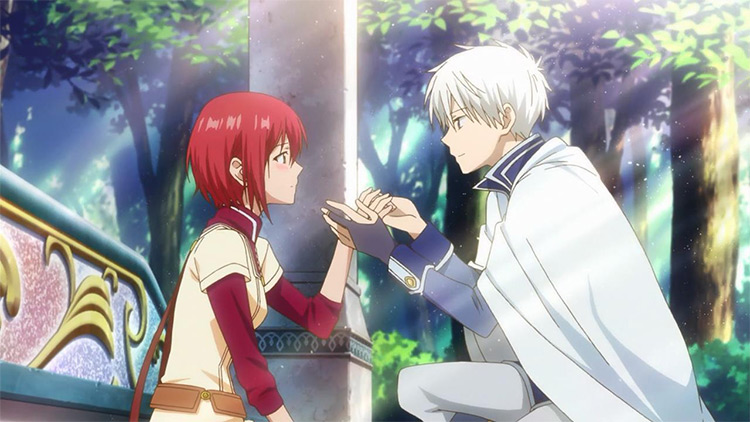 Akagami no Shirayuki-hime (Snow White with the Red Hair) anime