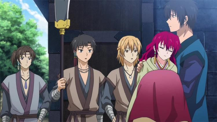 Akatsuki no Yona (Yona of the Dawn) anime