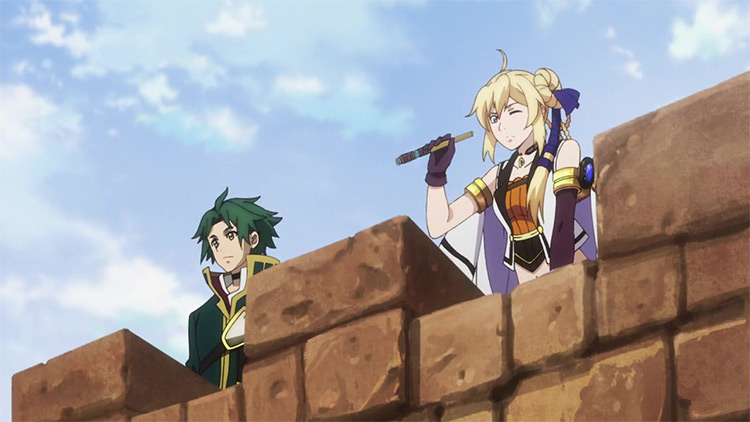 Grancrest Senki (Record of Grancrest War) anime