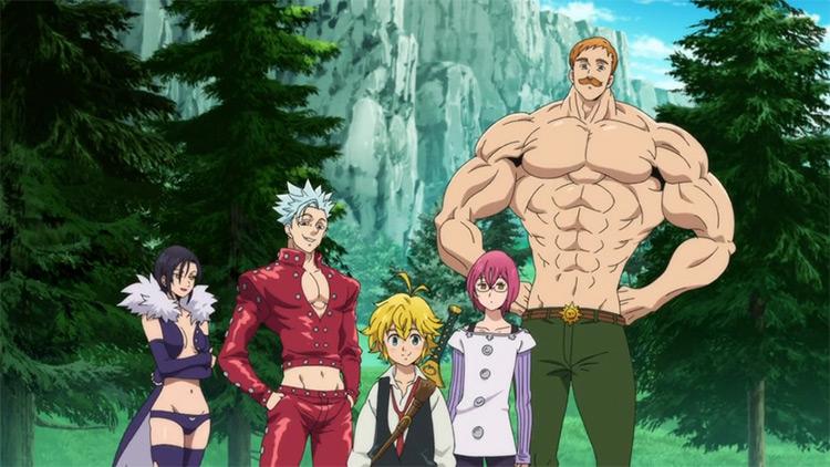 Nanatsu no Taizai (The Seven Deadly Sins) anime