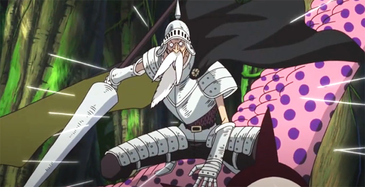 Gan Fall One Piece anime screenshot