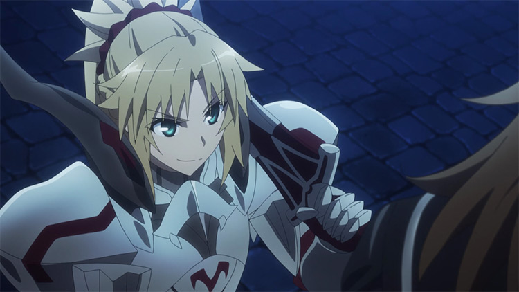 Aka no Saber Mordred from Fate/Apocrypha anime