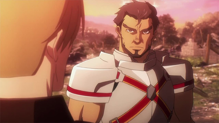 Gazef Stronoff from Overlord anime