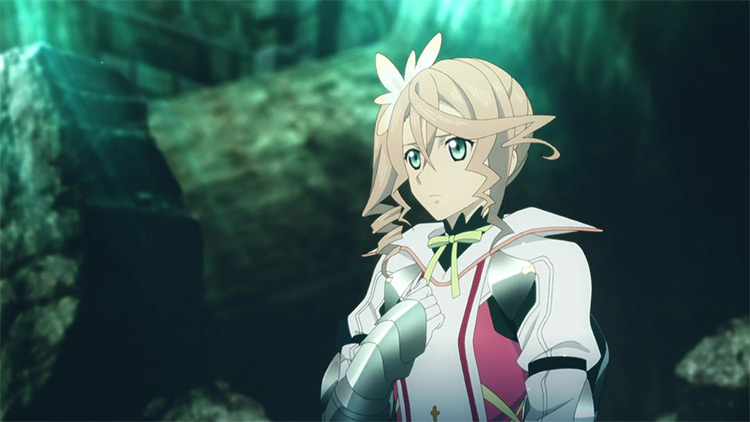 Alisha Diphda from Tales of Zestiria the Cross