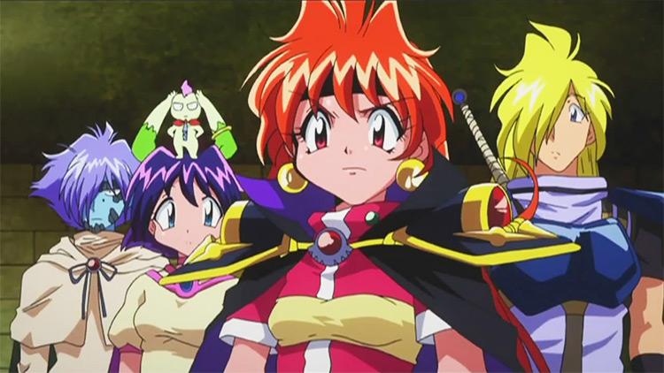 Slayers Try J.C. Staff anime screenshot