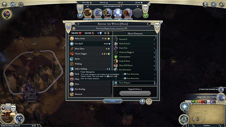 Hero Development Mod for Age of Wonders III