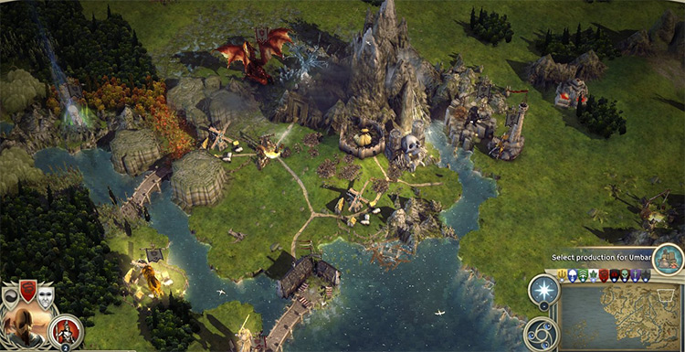 Middle Earth IV for Age of Wonders 3