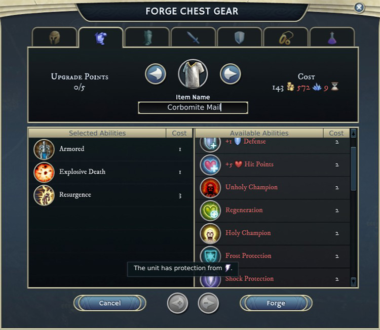 Expanded Forge for Age of Wonders III