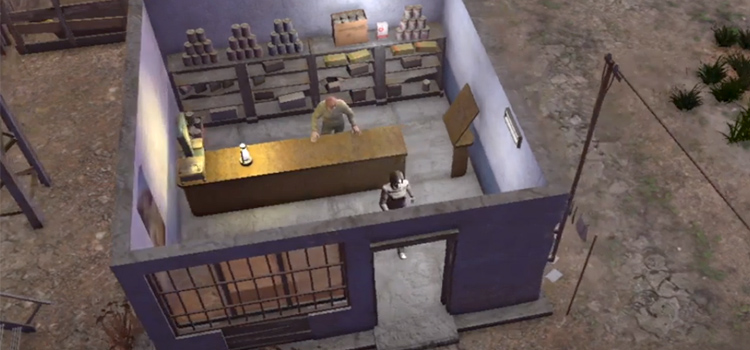 Gameplay from Atom RPG - HD screenshot