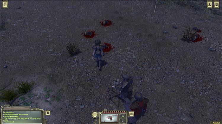 Walking Through the Wastes Atom RPG Mod