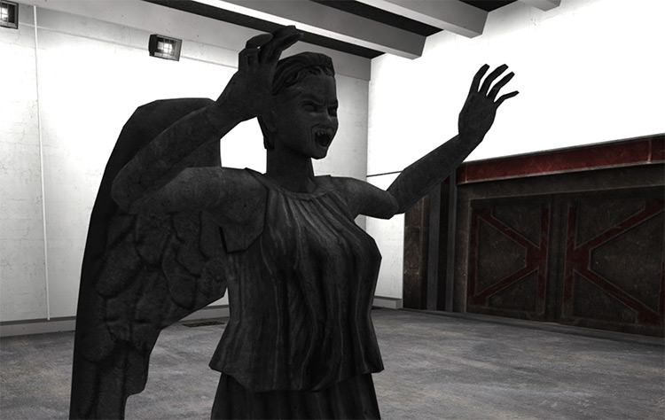 Weeping Angel SCP - Containment Breach Mod