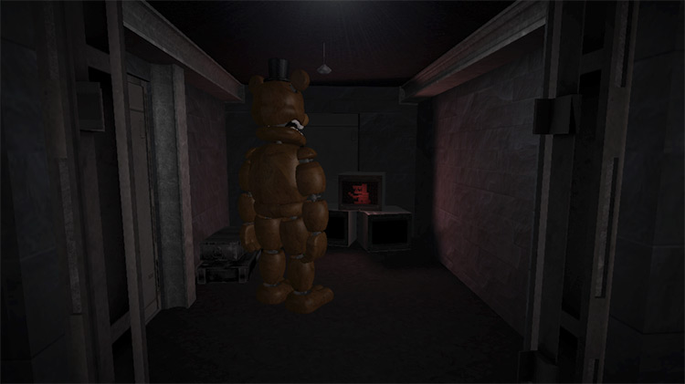 Five Nights at Freddy's SCP - Containment Breach Mod