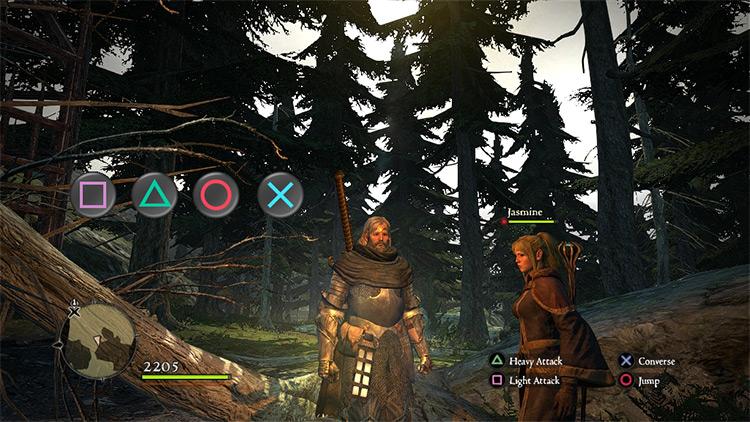 PSX Buttons for Dragon's Dogma: Dark Arisen