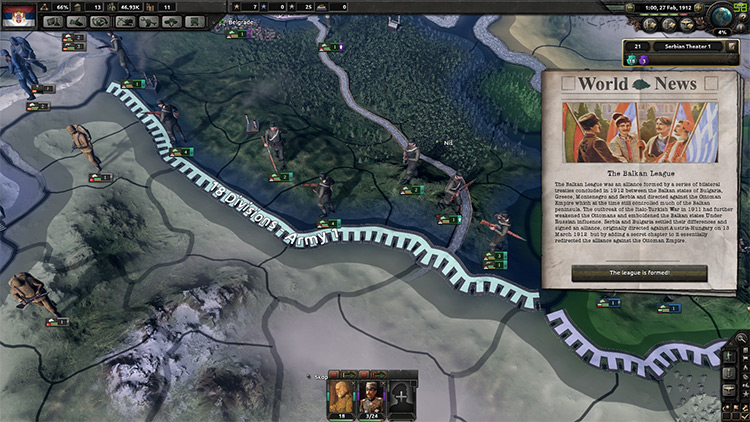 Hearts of Iron IV: The Great War Mod screenshot