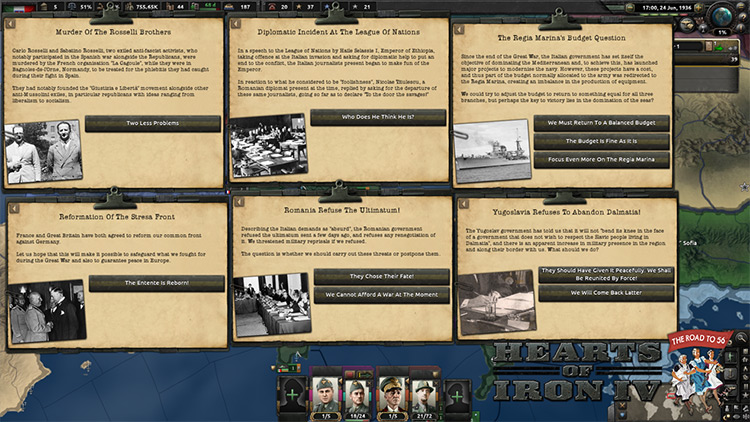 The Road to 56 Mod for Hearts Of Iron 4