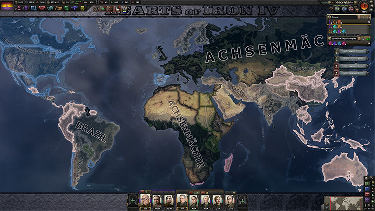 Coloured Buttons Hearts Of Iron 4 Mod