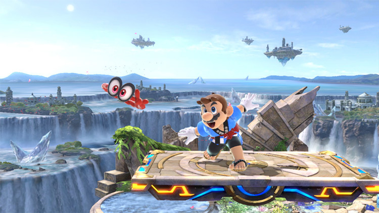 Super Mario Odyssey Skinpack Mod screenshot