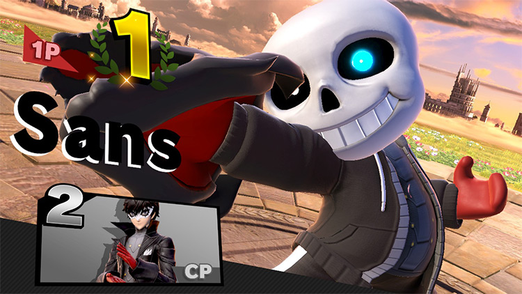 Joker Sans Super Smash Bros. Ultimate Mod