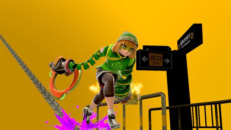 Chie Satonaka Min-Min Super Smash Bros. Ultimate Mod