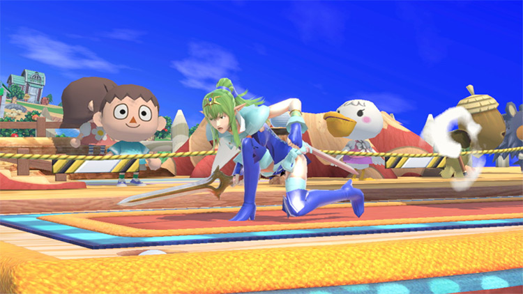 Tiki Over Lucina Mod for Super Smash Bros. Ultimate