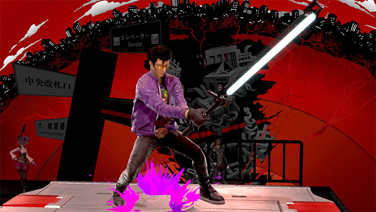 Travis Touchdown Mod for Super Smash Bros. Ultimate