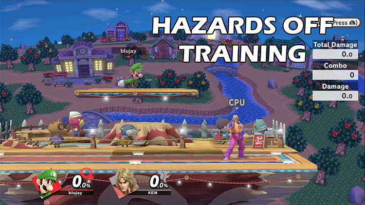 Stage Hazard Toggle Super Smash Bros. Ultimate Mod