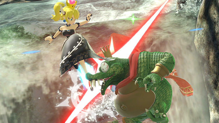 Bowsette Over Daisy for Super Smash Bros. Ultimate