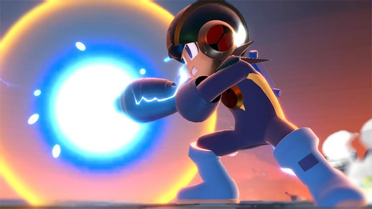 Megaman.Exe Character for SSBU