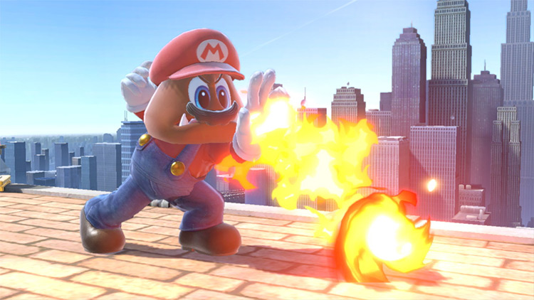 Goomba Mario Mod for Super Smash Bros. Ultimate