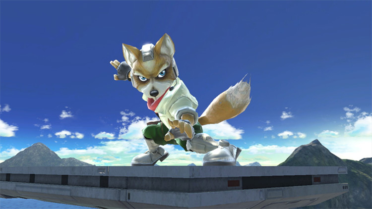 Melee Fox Super Smash Bros. Ultimate Mod