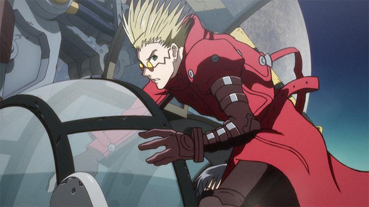 Vash the Stampede Trigun anime screenshot