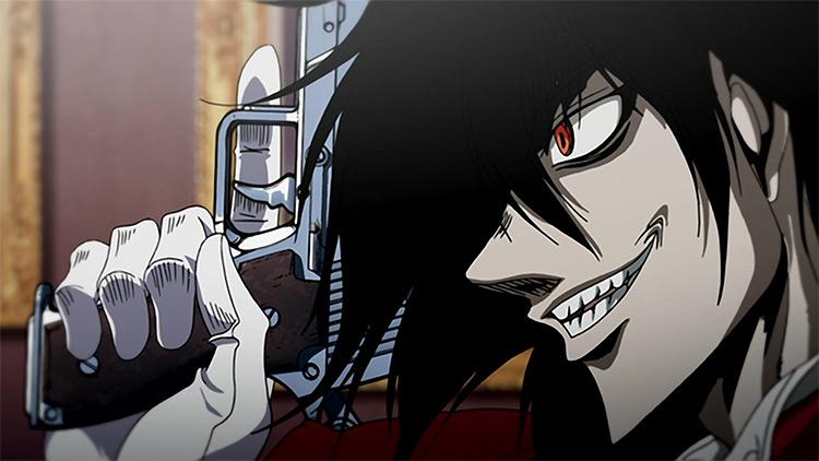 Alucard from Hellsing Ultimate anime