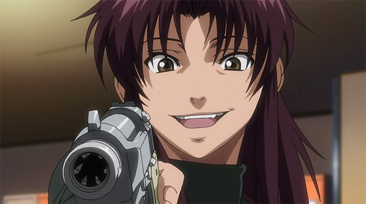 Revy from Black Lagoon anime