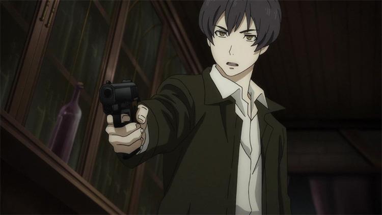 Angelo Lagusa 91 Days anime screenshot