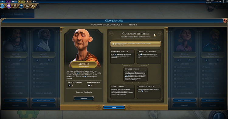 Moksha in Civilization 6