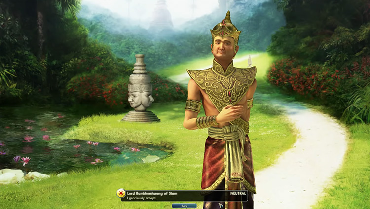 Siam - Ramkhamhaeng in Civilization 5