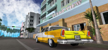 GTA Vice City Enhanced Graphics/ENB Taxi