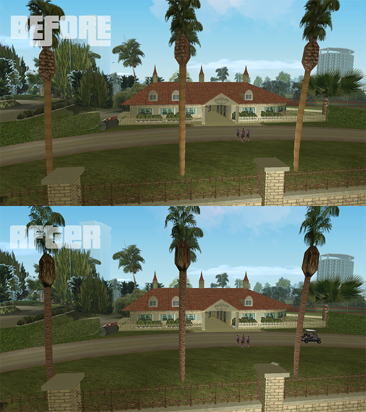 Vice City Retexture Project Mod screenshot